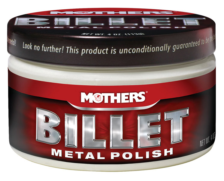 Large photo of Mothers Billet Metal Polish, 4oz, Pegasus Part No. 3361-003