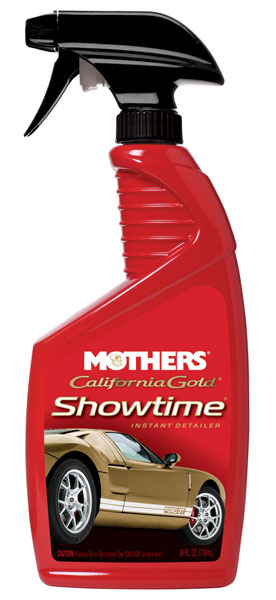 Large photo of Mothers California Gold Showtime Instant Detailer, 24oz, Pegasus Part No. 3361-045