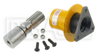 "Large photo of F-1 Splined Quick-Release Steering Hub, 1.0"" Shaft, Pegasus Part No. 3415"