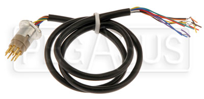 Large photo of Wire Harness for F-1 Quick Release w/8 Pin, Hub Side, Pegasus Part No. 3419-250