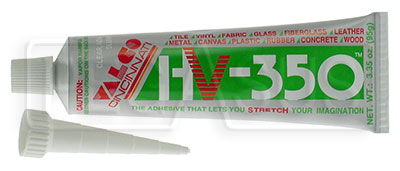 Large photo of HV-350 Flexible Adhesive, Pegasus Part No. 3435-001
