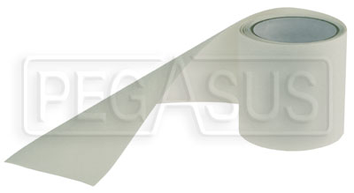 "Large photo of Non-Skid Rubberized Tape - Clear, 4"" x 7.5' Roll, Pegasus Part No. 3437-021"
