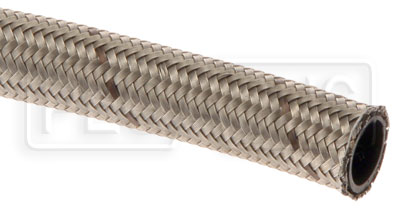 Large photo of 811 PTFE Lined Stainless Steel Braided Racing Hose, Pegasus Part No. 3480-Size-Length