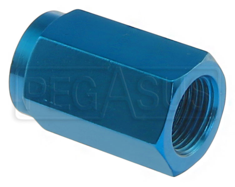 Large photo of Oil Temperature Probe Adapter Fitting, 5/8-18 to AN Tee, Pegasus Part No. 3497-010-Size