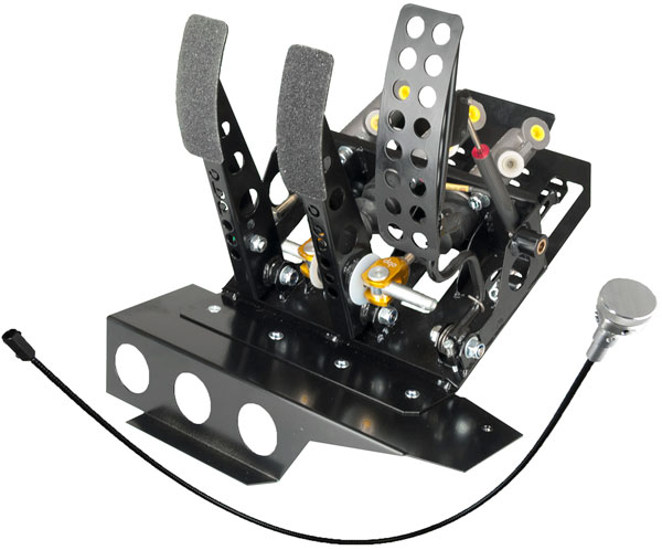 Large photo of OBP Track Pro 3-Pedal, DBW w MC & Bias Cable, BMW E36 LHD, Pegasus Part No. 3537-043