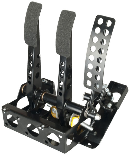 Large photo of OBP Track Pro 3-Pedal Box w/o MC, Subaru Impreza, Pegasus Part No. 3537-102