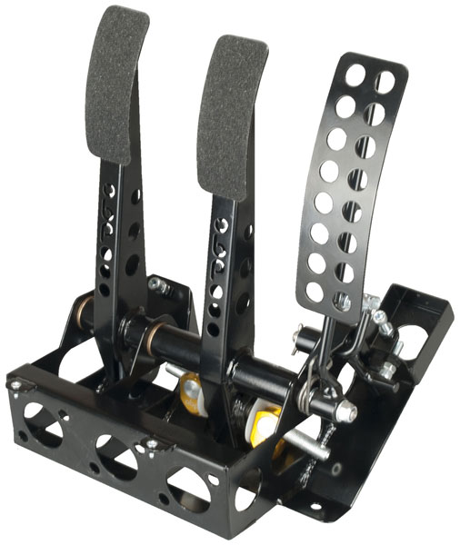 Large photo of OBP Track Pro 3-Pedal Box w/o MC, Mitsubishi Evo, Pegasus Part No. 3537-103
