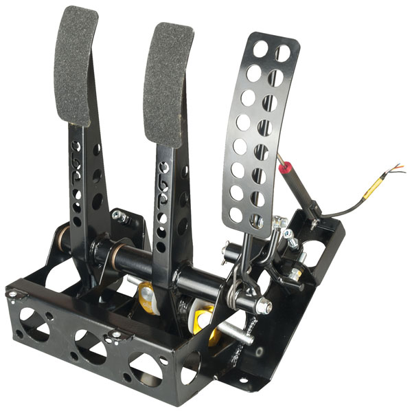 Large photo of OBP Track Pro 3-Pedal Box, 2 Pot w/o MC, Mitsubishi Evo, Pegasus Part No. 3537-112