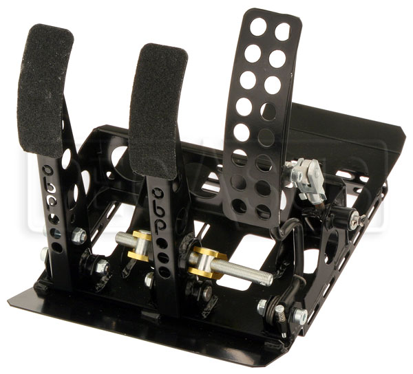 Large photo of OBP Track Pro 3-Pedal Box w/o MC, BMW E30 LHD, Pegasus Part No. 3537-202