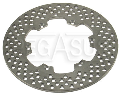Large photo of Lightweight Brake Disc Only, Pegasus Part No. 3541-Size
