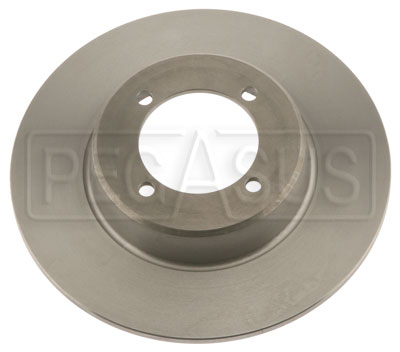 Large photo of Brake Rotor, DB1/DB3, Van Diemen 4-bolt (LD19), Pegasus Part No. 3545-10
