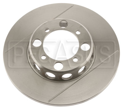 Large photo of Brake Rotor, DB2/DB3 w/LD20, Solid, F&R, Grooved & Lightened, Pegasus Part No. 3545-30