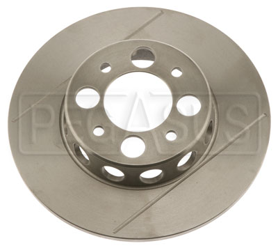 Large photo of Brake Rotor, Reynard FC 87+up (LD19) with Holes & Grooves, Pegasus Part No. 3545-32