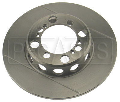 Large photo of Brake Rotor, VD FF Centerlock to 1993, Grooved & Lightened, Pegasus Part No. 3545-35