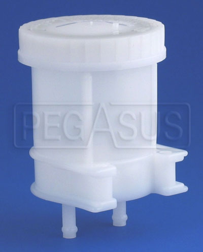 Large photo of Large Brake Fluid Reservoir, Dual 5/16 Push-On, Pegasus Part No. 3566