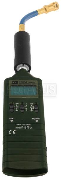 Large photo of Intercomp Tire Temperature/Humidity Meter, Pegasus Part No. 360036