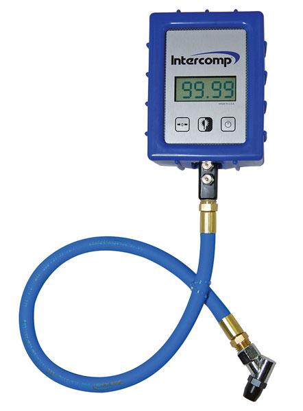 intercomp  psi digital air pressure gauge  case pegasus auto racing supplies