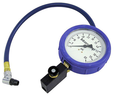 Large photo of Intercomp Fill, Bleed and Read 0-60 psi Gauge, Pegasus Part No. 360087
