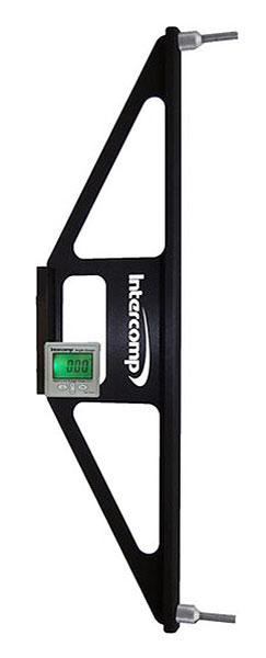 "Large photo of Intercomp Digital Angle Finder with ""Dunlop-style"" Adapter, Pegasus Part No. 360202"