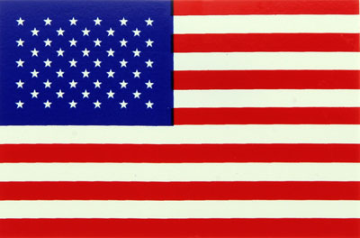 "Large photo of USA ""Stars and Stripes"" Flag Decal, Pegasus Part No. 3610-101"