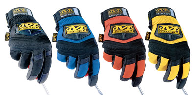 Large photo of Mechanix Wear M-Pact Gloves, Pegasus Part No. 3733-Size-Color