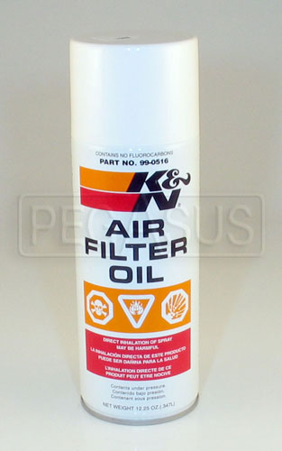 Large photo of (HAO) K&N Filtercharger Oil 12 oz Can, Pegasus Part No. 3851