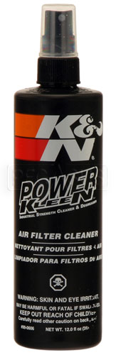 Large photo of K&N Filter Cleaner & Degreaser 12 oz, Pegasus Part No. 3852