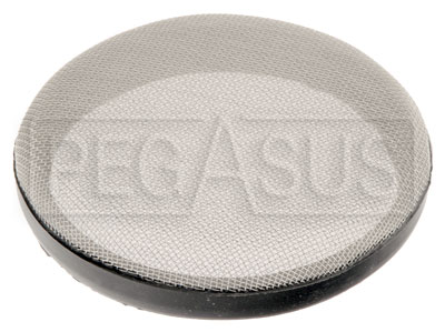"Large photo of Custom Velocity Stack Filter - 127mm (5.00"") Diameter - each, Pegasus Part No. 3894-127"