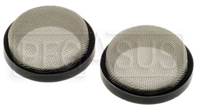 "Large photo of Custom Velocity Stack Filters - 64mm (2.50"") Diameter - pair, Pegasus Part No. 3894-64"