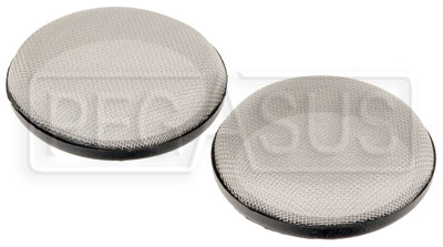 "Large photo of Custom Velocity Stack Filters - 89mm (3.50"") Diameter - pair, Pegasus Part No. 3894-89"