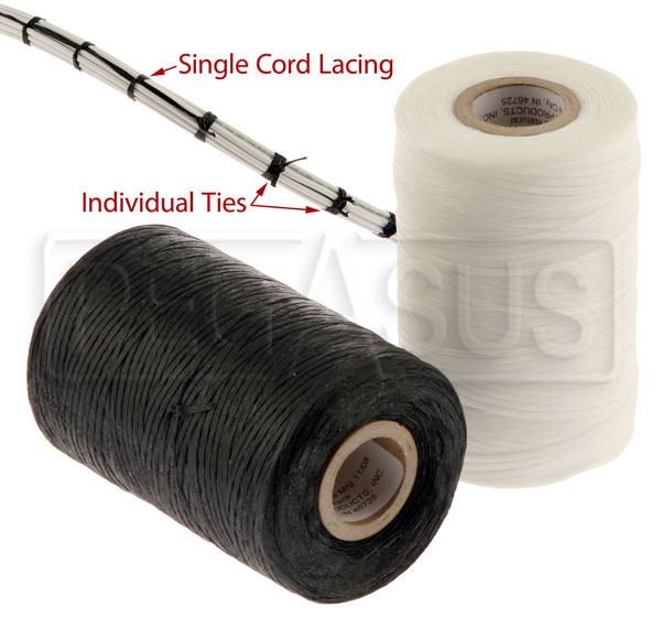 Large photo of Lacing Cord, MIL-T-43435B, specify color, Pegasus Part No. 4041-Color