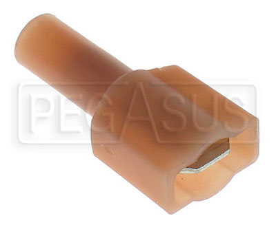 Large photo of Terminal, 22-18 Gauge:Fully Insulated Male Push-On, Pegasus Part No. 4109