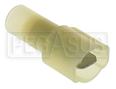 Large photo of Terminal, 12-10 Gauge Fully Insulated Male Push-On, Pegasus Part No. 4134