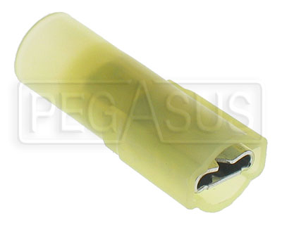 Large photo of Terminal, 12-10 Gauge Fully Insulated Female Push-On, Pegasus Part No. 4135