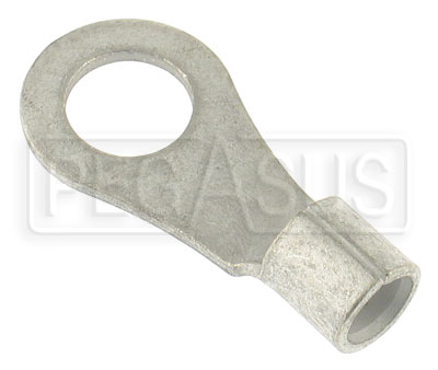 "Large photo of Ring Terminal for 4 Gauge Battery Cable, 1/2""  Ring, Pegasus Part No. 4144"