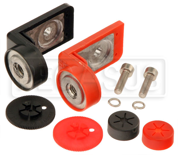 Large photo of M6 Top to GM Side Battery Terminal Adapter Set, Pegasus Part No. 4156-101