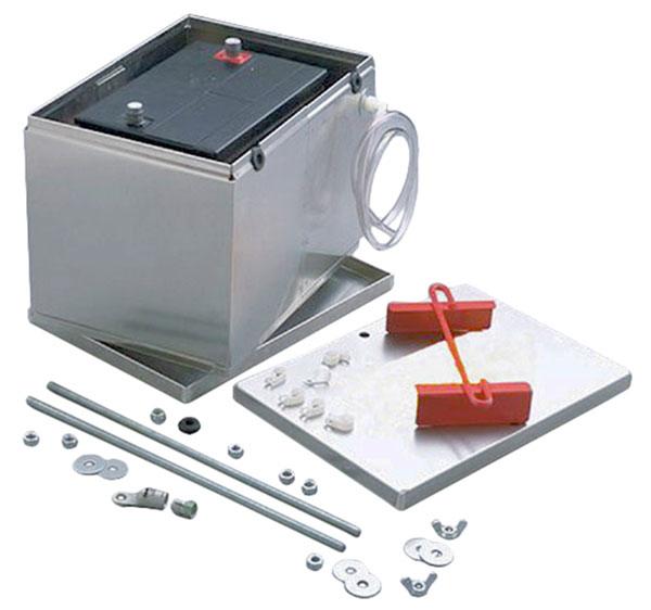 Duracell Car Battery Review >> Aluminum Group 34/78 - 25/75 Battery Box | Pegasus Auto Racing Supplies