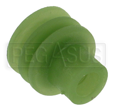 Large photo of Weather Pack Terminal Seal for 2.03 to 2.80mm Wire (Green), Pegasus Part No. 4185-072