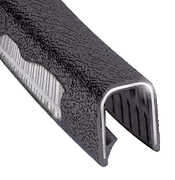 Large photo of Heavy Duty Flexible Trim, Black - per foot, Pegasus Part No. 4346-Size-Length