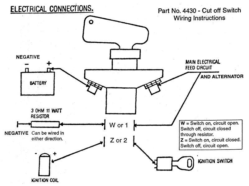 4430 inst flaming river emerg shutoff switch corvetteforum chevrolet flaming river battery disconnect wiring diagram at n-0.co