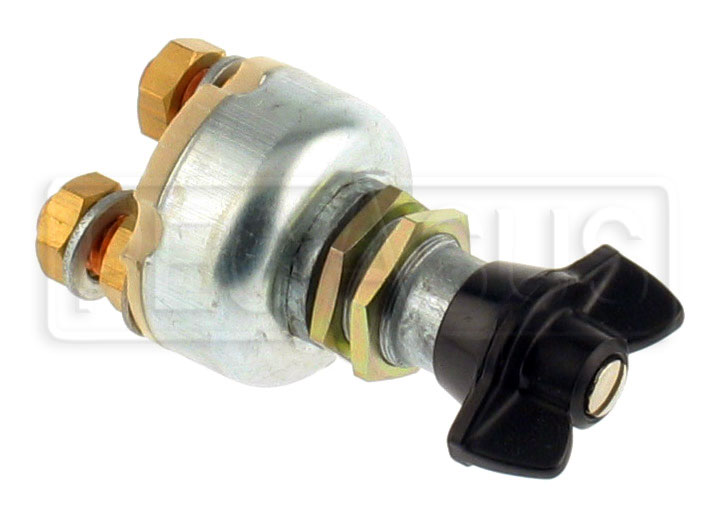 Large photo of Lucas-Style Master Battery Cutoff Switch, Pegasus Part No. 4436