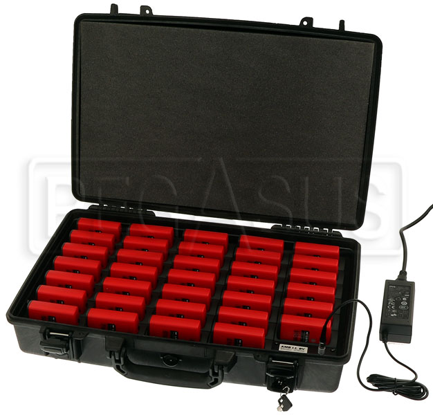 Large photo of AMB 34 Unit Charging Case (transponders sold separately), Pegasus Part No. 5001-301
