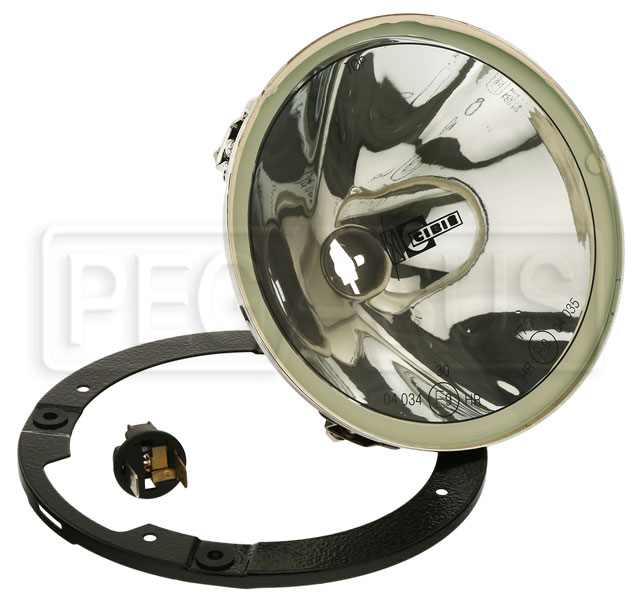 "Large photo of Cibie Oscar SC ""Snap-In"" Halogen Headlamp, Driving Version, Pegasus Part No. 5099-001"