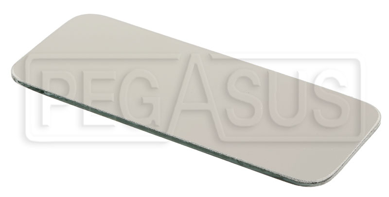 Large photo of Replacement Flat Mirror Lens, Club Series, Rectangular, Pegasus Part No. 5168-312
