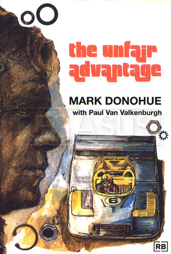 Large photo of The Unfair Advantage by Mark Donohue, Pegasus Part No. 5298