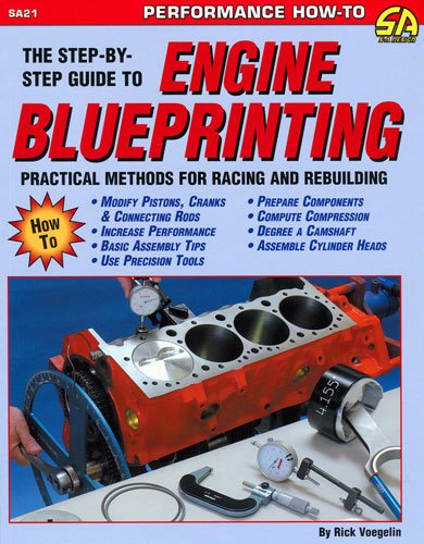 Large photo of Engine Blueprinting by Rick Voegelin, Pegasus Part No. 5308