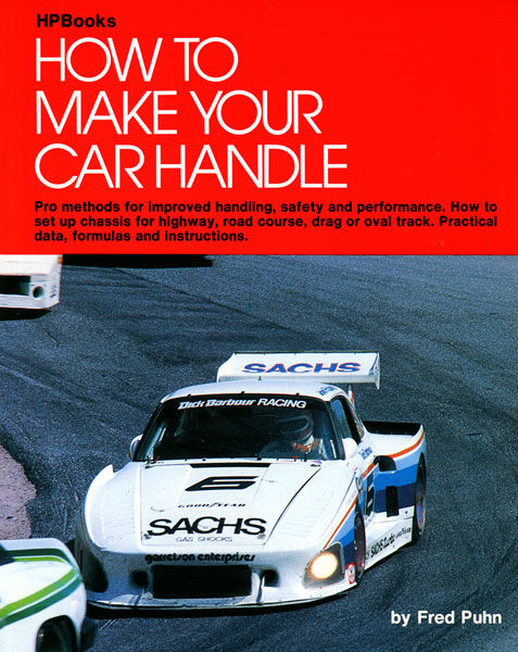 Large photo of How to Make Your Car Handle by Fred Puhn, Pegasus Part No. 5310