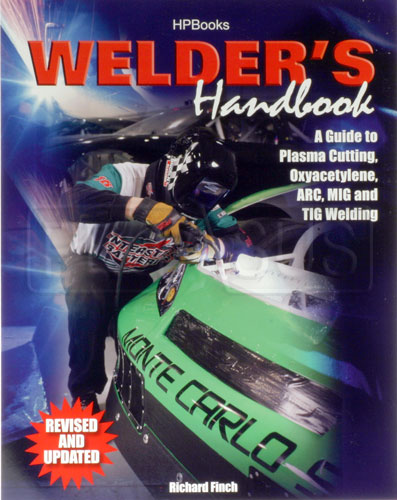 Large photo of Welder's Handbook by Richard Finch, Pegasus Part No. 5315