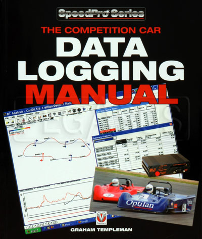 Large photo of Competition Car Data Logging Manual, Pegasus Part No. 5398-005