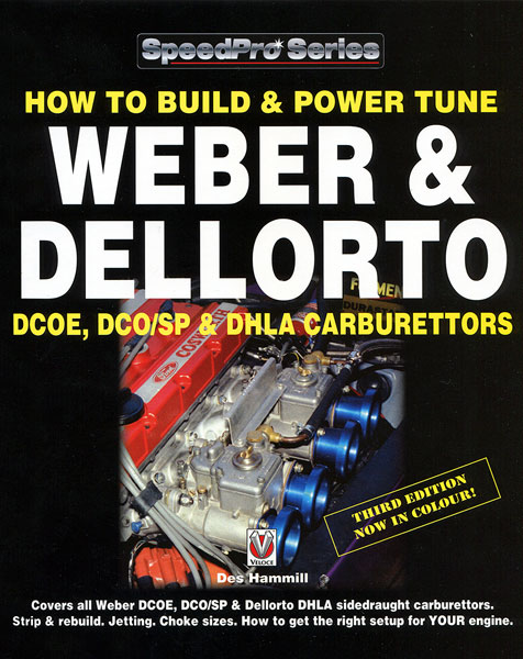 Large photo of How to Build and Power Tune DCOE & DHLA Carburetors, Pegasus Part No. 5398-011